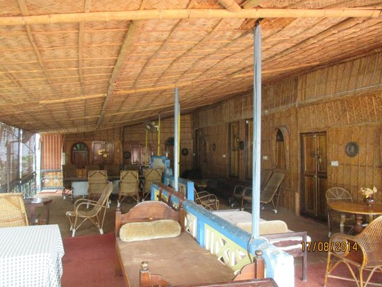 Ashtamudi Homestay: Lounging Area