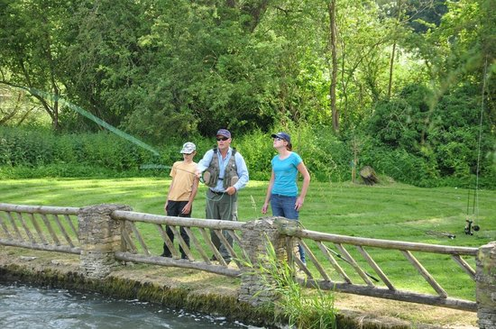 Old Swan & Minster Mill: Two miles of fishing on the grounds
