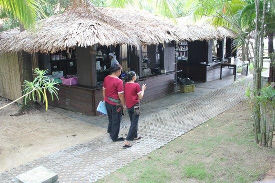 Khaolak Laguna Resort : Strandküche