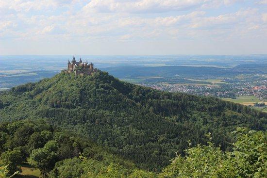 Burg Hohenzollern: View from Zeller Horn