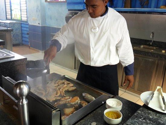 Royalton Hicacos Varadero Resort & Spa: Морепродукты на гриле