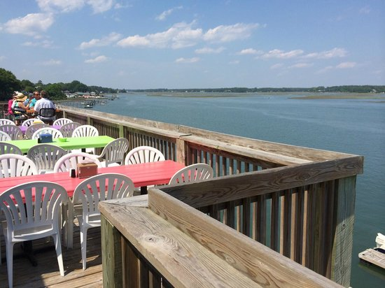 Inlet View Bar and Grill: Outside view