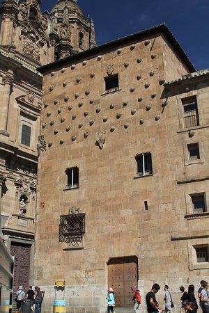Casa de las Conchas: façade