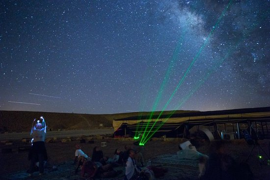 Desert Land Adventure Tours - Private Day Tours: Stars gazing workshop in Ramon Crater with Desert Land