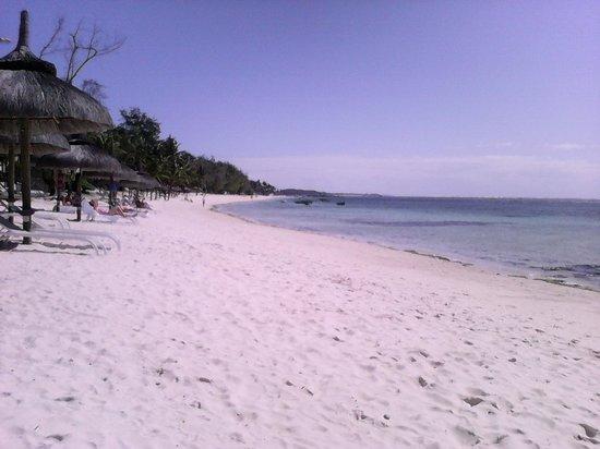 Ambre Resort & Spa : justo en frente del hotel