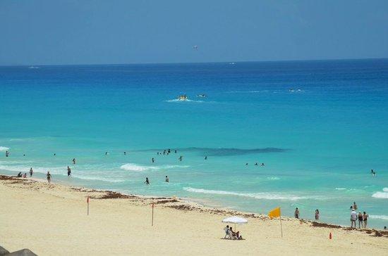 The Royal Caribbean: la playa
