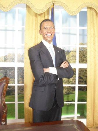 Madame Tussauds Hollywood: Obama!
