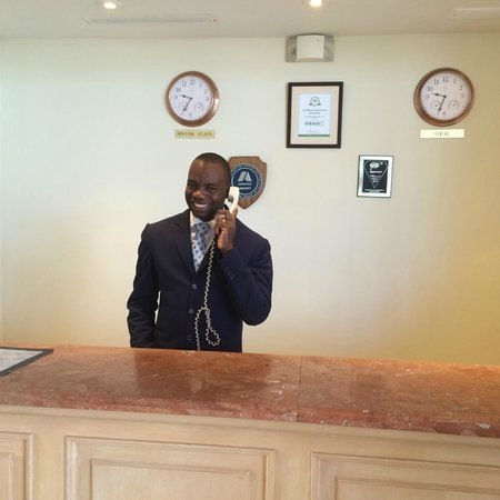Quality Hotel Real Aeropuerto Santo Domingo : The friendly staff