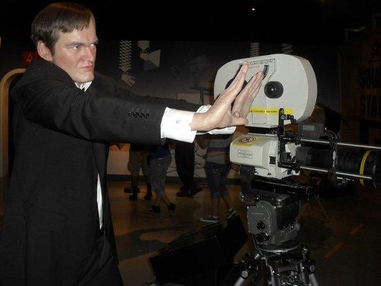 Madame Tussauds Hollywood: Tarantino!