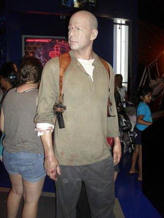 Madame Tussauds Hollywood: Bruce!