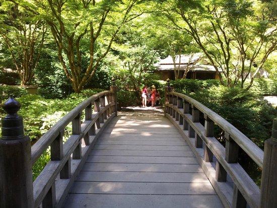 Portland Japanese Garden: Puente