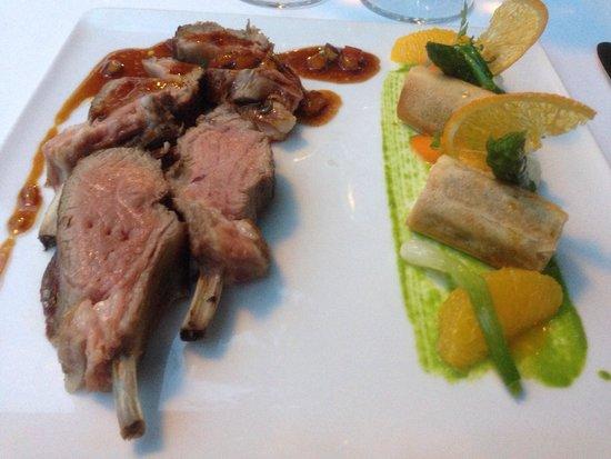 Baumanière les Baux de Provence : Carré d'agneau