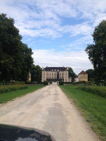 Chateau de Saulon : Arrivé au chateau