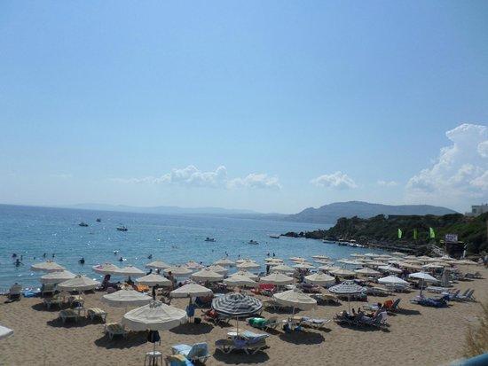 Bel Mare Hotel: plage