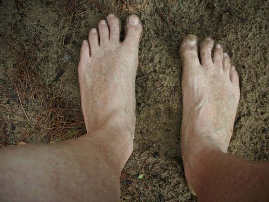 Oval Beach : The simple joy of going barefoot!