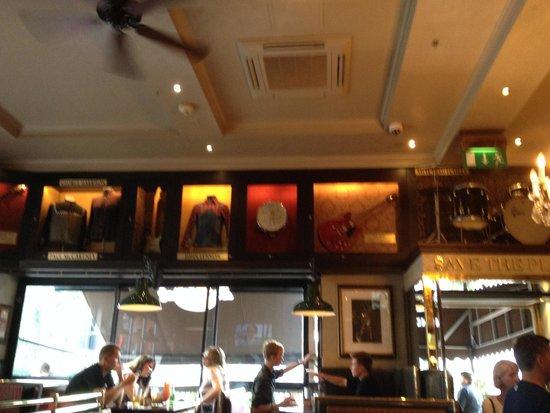 Hard Rock Cafe London: The Beatles