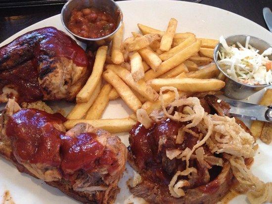 Hard Rock Cafe London: My food