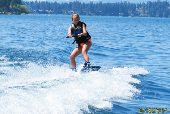 Hayden, ID: Crossing the wake for the first time