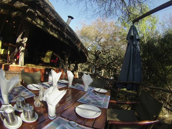 Jaci's Safari Lodge : Breakfest place