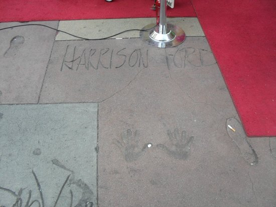 TCL Chinese Theatres: Harrison Ford!
