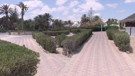 El Mouradi Djerba Menzel: Le parc de l'hôtel