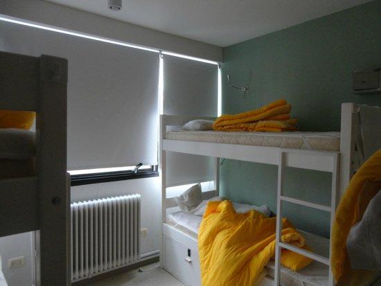 Hostel & Suites de Rio : quarto feminino compartilhado