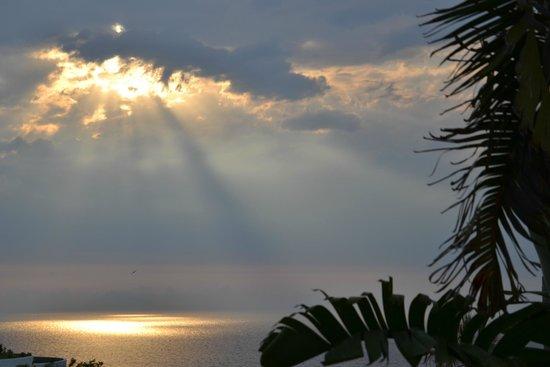 Hotel Villaggio Stromboli : Закат
