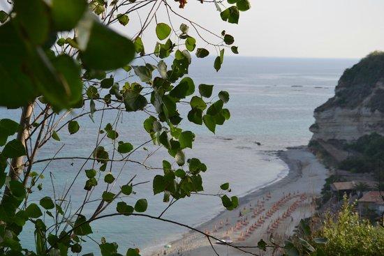 Hotel Villaggio Stromboli : Вид на пляж