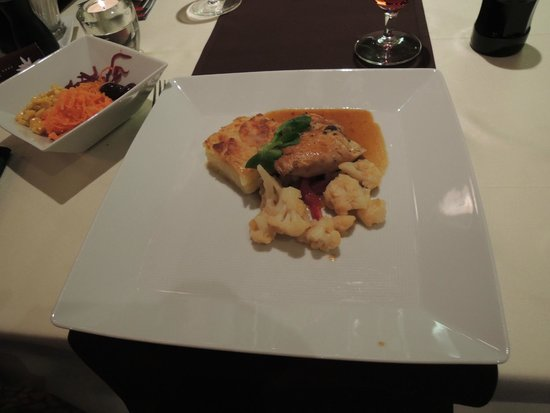 Wellness Hotel Chopok: Our dinner