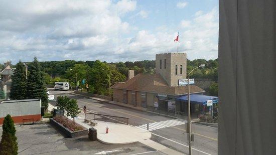 Hampton Inn by Hilton Niagara Falls-North Of The Falls: view out our window