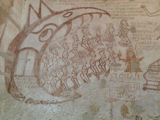 Palazzo Steri - Chiaramonte - Carcere dei penitenziati : disegni dei prigionieri dell'inquisizione