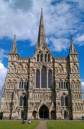 Salisbury Cathedral and Magna Carta: View from the Close
