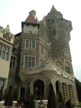 Casa Loma: From the garden