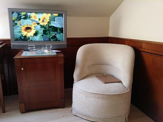 Silken Rio Hotel: Televisor habitación Silken Club