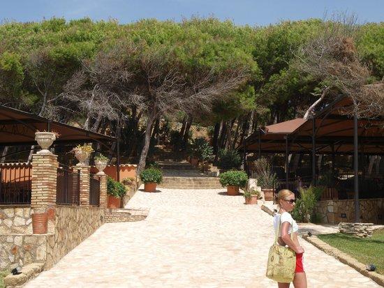 Baia di Ulisse Wellness & SPA : парк отеля
