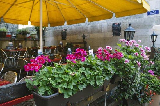 Restaurant Le Flore: Notre terrasse