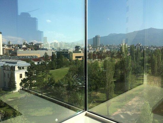 Hilton Sofia: View