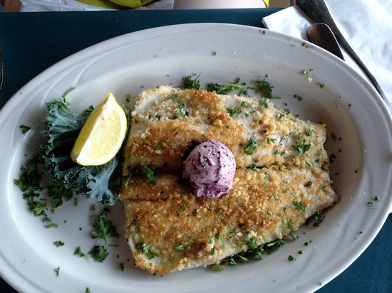 Pisgah Inn Restaurant: Rainbow trout