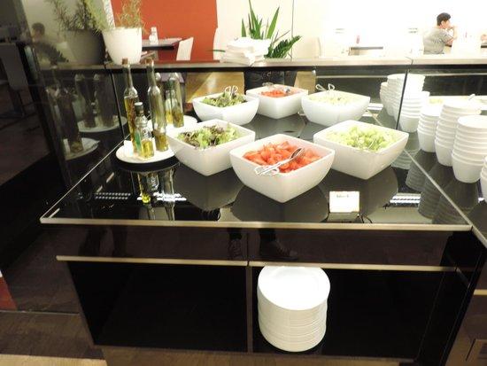 Grandior Hotel Prague : Salades