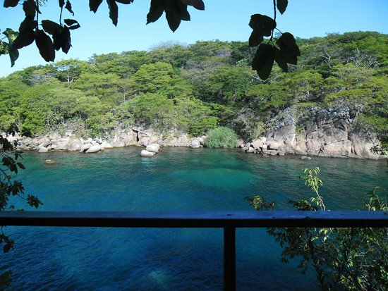 Mumbo Island: The view from our room