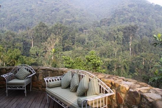 The Engagi Lodge: Vista dalla terrazza