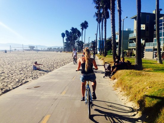 Venice By Bike Picture Of Beach Tours Los Angeles