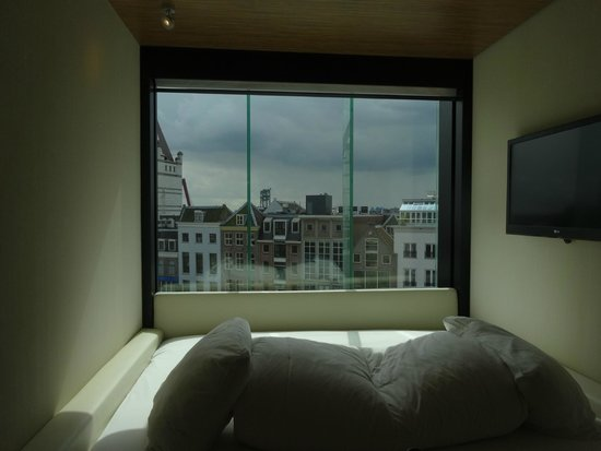citizenM Rotterdam: View from the bed