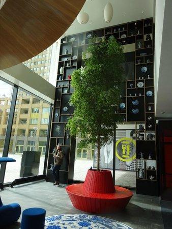 citizenM Rotterdam : Lobby