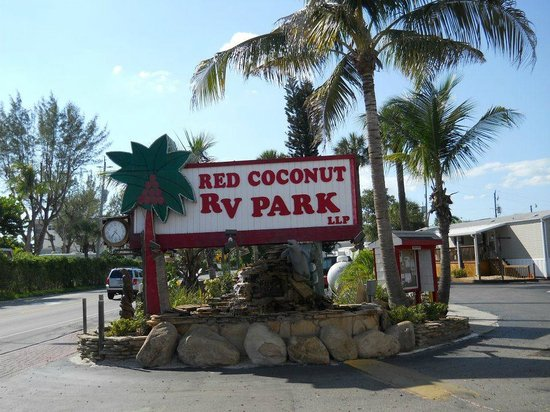Red Coconut RV Park : Red Coconut!!!