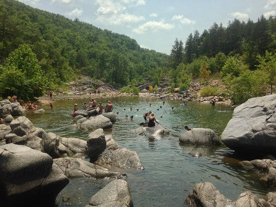 Johnson's Shut-ins State Park: Lots of fun, different areas here!
