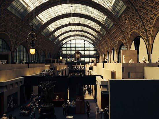 Musée d'Orsay: Interno.
