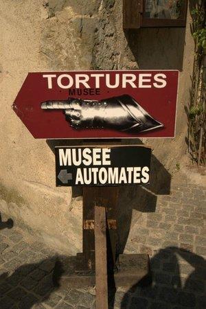 Liste des comtes de Carcassonne : museo delle torture