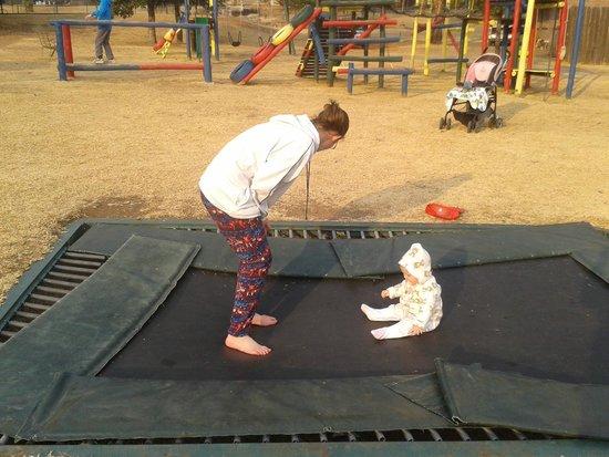 Qwantani Berg and Bush Resort : Trampoline and playground