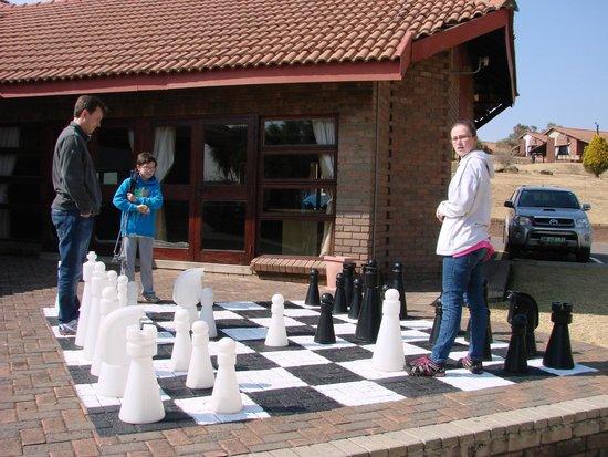 Qwantani Berg and Bush Resort : Chess